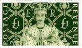Her Majestys Stamps £1 Stamp (2000) Coronation