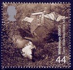 Millennium Projects (1st Series). 'Above and Beyond' 44p Stamp (2000) River Goyt and Textile Mills (Torrs Walkway, New Mills)