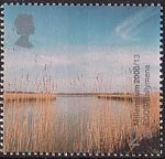 Millennium Projects (4th Series). 'Life and Earth' 2nd Stamp (2000) Reed Beds, River Braid (ECOS, Ballymena)