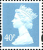 Definitive 40p Stamp (2000) Deep Azure