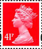 Definitive 41p Stamp (2000) Rosine