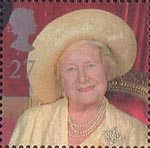 Queen Elizabeth the Queen Mother's 100th Birthday 27p Stamp (2000) Queen Elizabeth the Queen Mother