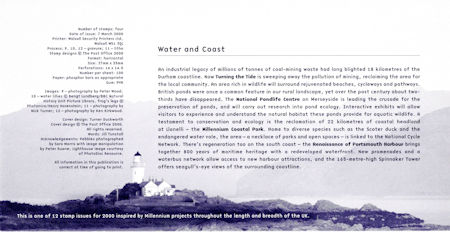 Millennium Projects (3rd Series). 'Water and Coast' (2000)