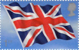 Flags and Ensigns 1st Stamp (2001) Union Flag