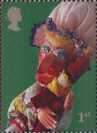 Punch and Judy 1st Stamp (2001) Judy