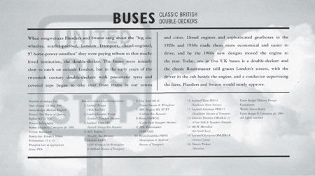 Buses : Classic British Double-Deckers (2001)