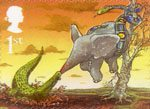 Centenary of Publication of Rudyard Kipling's Just So Stories 1st Stamp (2002) The Elephant's Child