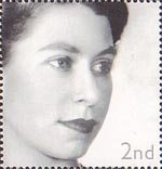 Golden Jubilee 2nd Stamp (2002) Queen Elizabeth II, 1952 (Dorothy Wilding)
