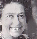 Golden Jubilee E Stamp (2002) Queen Elizabeth II, 1978 (Lord Snowdon)
