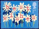 'Occasions' Greetings Stamps 1st Stamp (2002) Flowers ('best wishes')