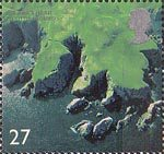British Coastlines 27p Stamp (2002) St. Abb's Head, Scottish Borders