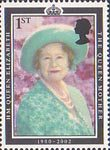 Queen Elizabeth the Queen Mother Commemoration 1st Stamp (2002) Queen Elizabeth the Queen Mother