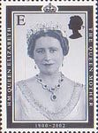 Queen Elizabeth the Queen Mother Commemoration E Stamp (2002) Queen Elizabeth the Queen Mother