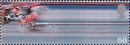 17th Commonwealth Games, Manchester 68p Stamp (2002) Wheelchair Racing