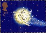 150th Anniversary of Great Ormond Street Children's Hospital. Peter Pan by Sir James Barrie 2nd Stamp (2002) Tinkerbell