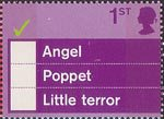 'Occasions' Greetings Stamps 1st Stamp (2003) 'Angel, Poppet, Little terror'