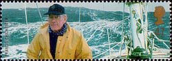 Extreme Endeavours (British Explorers) 47p Stamp (2003) Francis Chichester (yachtsman) and Gipsy Moth IV