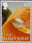 British Pub Signs 68p Stamp (2003) 'The barley Sheaf' (Joy Cooper)