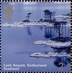 A British Journey : Scotland 2nd Stamp (2003) Loch Assynt, Sutherland