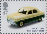 Classic Transport Toys 47p Stamp (2003) Dinky Toys Ford Zephyr, c. 1956