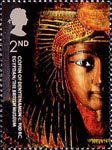 250th Anniversary of the British Museum 2nd Stamp (2003) Coffin of Denytenanmun, Egyptian, c. 900BC