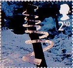 Christmas 2nd Stamp (2003) Ice Spiral