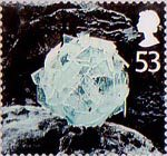 Christmas 53p Stamp (2003) Ice Ball