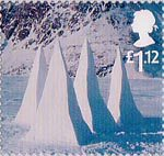 Christmas �1.12 Stamp (2003) Snow Pyramids