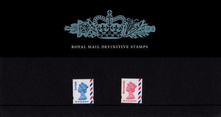 Definitive - Overseas Booklet Stamps (2003)