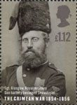150th Anniversary of the Crimean War �1.12 Stamp (2004) Sgt. Glasgow, Royal Artillery, Gun Battery besieged Savastepol