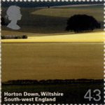 A British Journey : South West England 43p Stamp (2005) Horton Down, Wiltshire