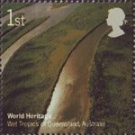 World Heritage Sites 1st Stamp (2005) Wet Tropics of Queensland, Australia