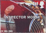 50th Anniversary of Independent Television 2nd Stamp (2005) Inspector Morse