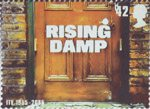 50th Anniversary of Independent Television 42p Stamp (2005) Rising Damp