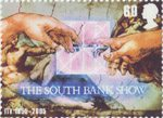 50th Anniversary of Independent Television 60p Stamp (2005) The South Bank Show