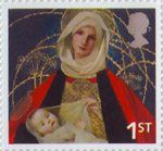 Christmas 1st Stamp (2005) 'Madonna and Child' (Marianne Stokes)
