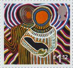 Christmas £1.12 Stamp (2005) 'Come let us adore Him' (Dianne Tchumut)