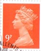 Definitive 9p Stamp (2005) Yellow Orange