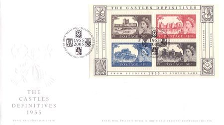 50th Anniversary of First Castles Definitives (2005)