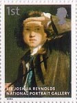 National Portrait Gallery 1st Stamp (2006) Sir Joshua Reynolds by Sir Joshua Reynolds