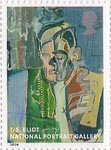 National Portrait Gallery 1st Stamp (2006) Thomas Stearns Eliot by Patrick Heron