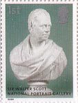 National Portrait Gallery 1st Stamp (2006) Walter Scott by Sir Francis Chantry
