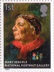 National Portrait Gallery 1st Stamp (2006) Mary Seacole by Albert Charles Challen