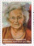 National Portrait Gallery 1st Stamp (2006) Dame Cicely Saunders by Catherine Goodman