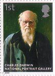 National Portrait Gallery 1st Stamp (2006) Charles Darwin by John Collier