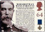 150th Anniversary of the Victoria Cross 64p Stamp (2006) Midshipman Wins First VC - Midshipman Charles Lucas