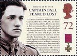 150th Anniversary of the Victoria Cross 72p Stamp (2006) Captain Feared Lost - Captain Albert ball DSO, MC