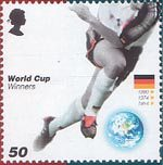 World Cup Winners 50p Stamp (2006) Germany