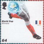 World Cup Winners 64p Stamp (2006) France