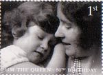 Her Majesty The Queen's 80th Birthday 1st Stamp (2006) Aged 5